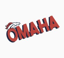 Omaha Broncos Football in Denver Shirts and Bumper Stickers by sturgils
