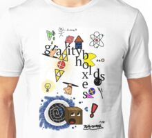 Gravity holds boxes Unisex T-Shirt