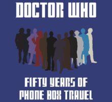 50 Years of Phone Box Travel by sasukex125