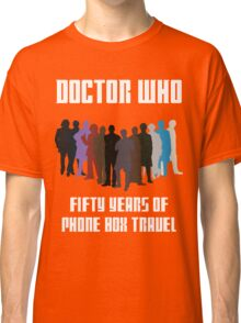 50 Years of Phone Box Travel Classic T-Shirt