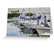 Black Point Marina 2 Greeting Card