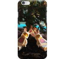 Bunny - Sunset Nap iPhone Case/Skin