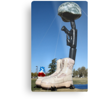 Battlecross Memorial Metal Print