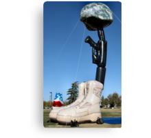 Battlecross Memorial Canvas Print