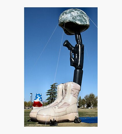 Battlecross Memorial Photographic Print
