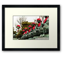 Budha line up Framed Print