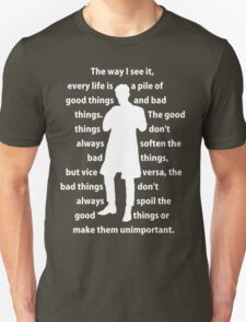 11th Doctor quote shirt Unisex T-Shirt