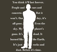 9th Doctor quote shirt Unisex T-Shirt