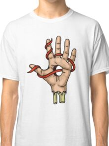 Ribbon Fingers Classic T-Shirt
