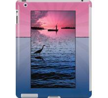 Ipad: Canoeing on Lake Maracaibo iPad Case/Skin