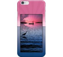 Phone case: Canoeing on Lake Maracaibo iPhone Case/Skin