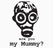 Are You My Mummy? Doctor Who inspired design by hypergeekstuff