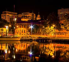 Reflections of Hobart by DoctorPedro