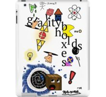 Gravity holds boxes iPad Case/Skin