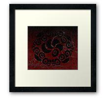 Ring of Eyes Framed Print