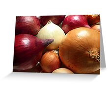 Do You Know Your Onions!! Greeting Card