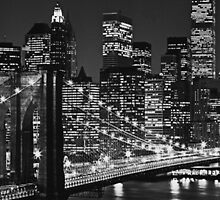 New York City in Black and White by ilikefood