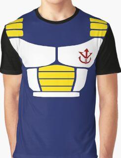 Minimalist Saiyan armor Graphic T-Shirt