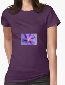 Close Up of A Morning Glory Purple and Pink Flower T-Shirt