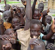 Happy children in Malakal by jvoweaver