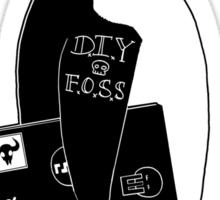 son of punk as fsck Sticker