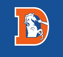 Denver Broncos Vintage Logo by AbsoluteLegend
