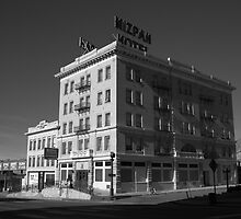 Tonopah, Nevada - Mizpah Hotel by Frank Romeo