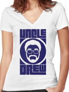 Uncle Drew - Update Women's Fitted V-Neck T-Shirt