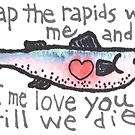 Salmon Love by dosankodebbie