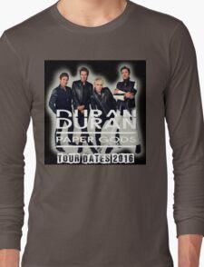 DURAN DURAN PAPER GODS TOUR DATES 2016 Long Sleeve T-Shirt