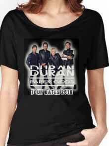 DURAN DURAN PAPER GODS TOUR DATES 2016 Women's Relaxed Fit T-Shirt