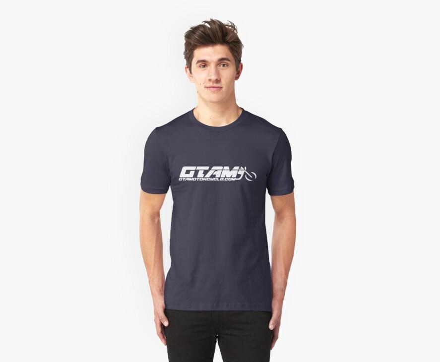 GTAM Cruiser T Shirt - Horizontal by GTAMotorcycle
