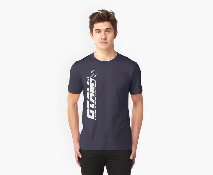 GTAM Cruiser T Shirt - Vertical by GTAMotorcycle