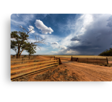 The Dry Storm Canvas Print