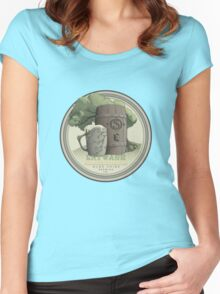 Olde Shire Brew - Entwash Women's Fitted Scoop T-Shirt