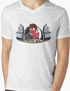Why Not Doctor Who Mens V-Neck T-Shirt