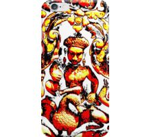 Angkor Carvings iPhone Case/Skin