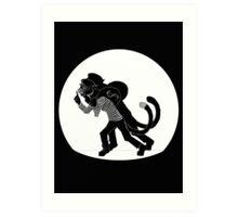 Cat Burglar Art Print