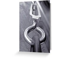 tension's bolt Greeting Card
