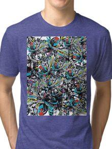 sugar set wink  Tri-blend T-Shirt