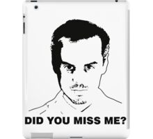 Miss Me? iPad Case/Skin