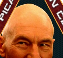 Picard Fan Club Mission Patch Sticker