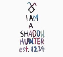 I am a shadowhunter (watercolor) by dictionaried