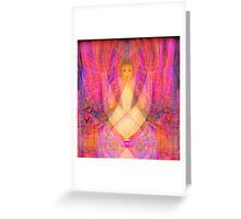 Within a Secretive Vale of Passion  Greeting Card