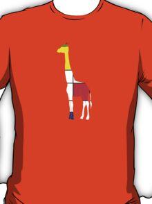 Art Giraffe- Neoplasticism T-Shirt