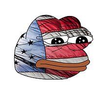 American Flag Pepe by skilliamchan