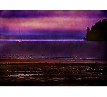 Sailing in Puget Sound Photographic Print