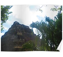 Mayan Temple Poster