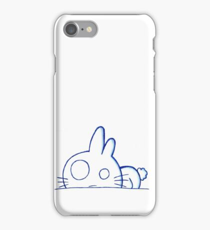 Stressed Bunny iPhone Case/Skin