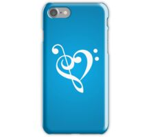 Love the music! iPhone Case/Skin